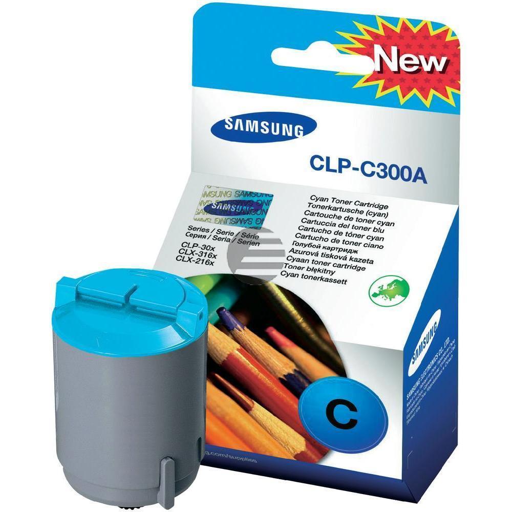 Samsung Toner-Kit cyan (CLP-C300A, 300)