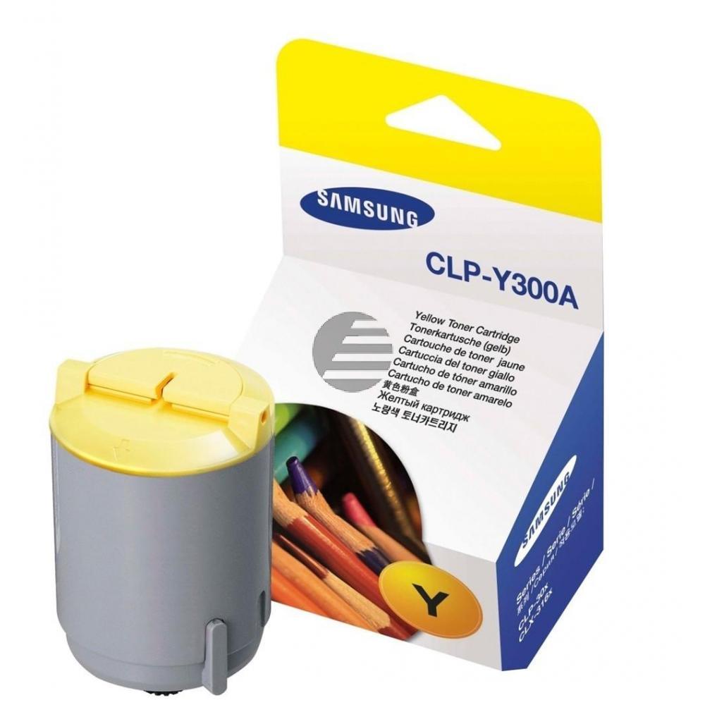Samsung Toner-Kit gelb (CLP-Y300A, 300)