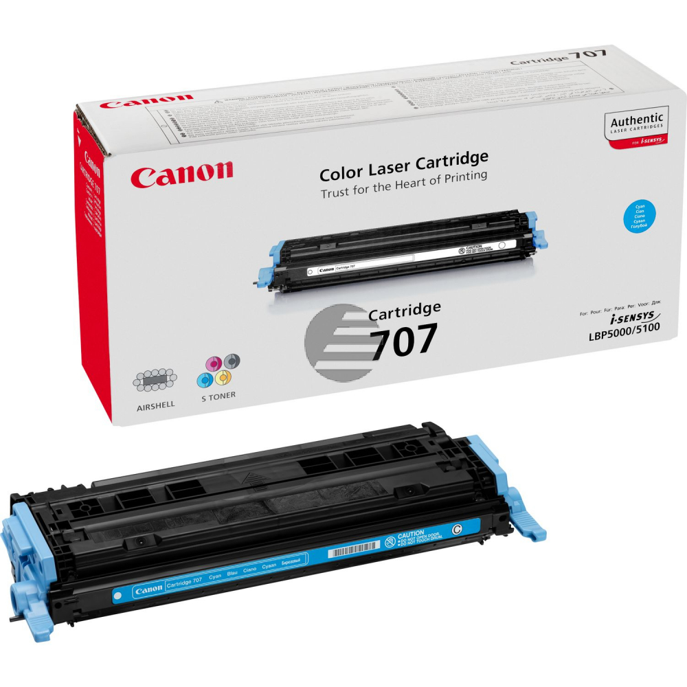 Canon Toner-Kartusche cyan (9423A004, 707)