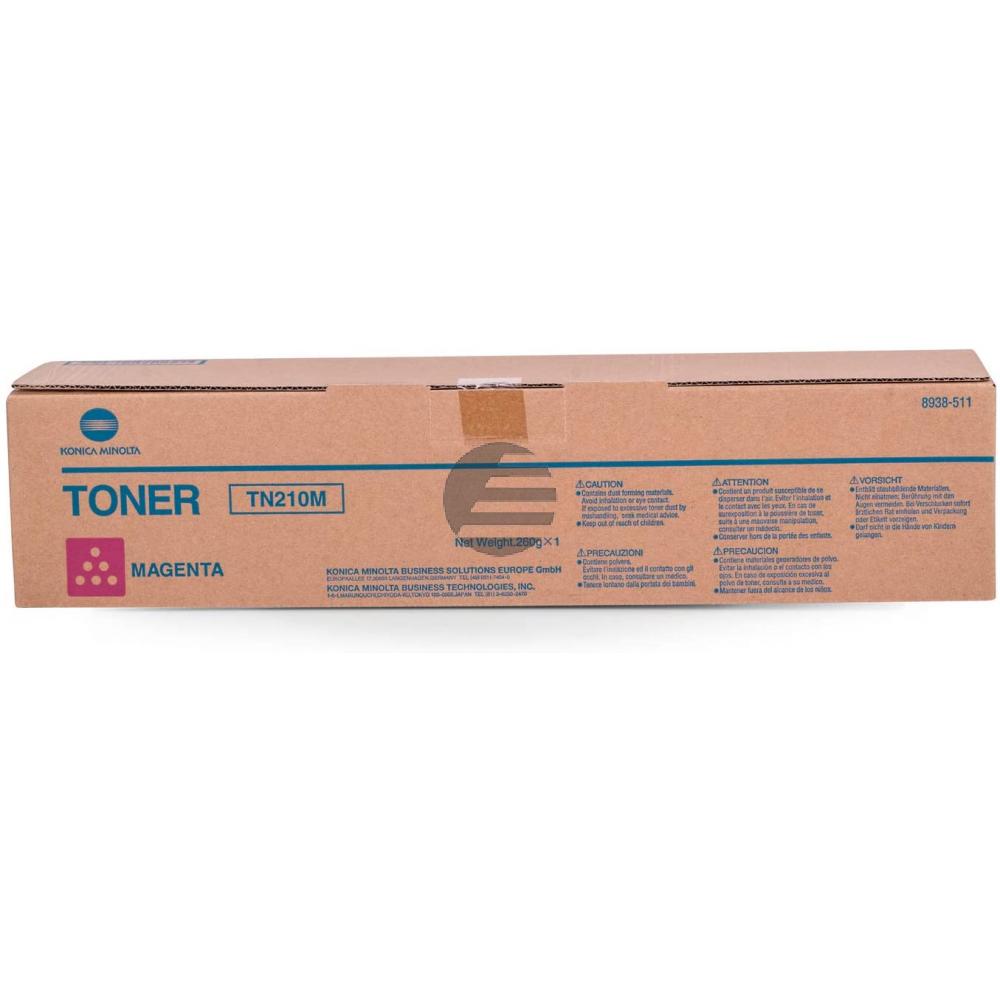 Konica Minolta Toner-Kit magenta (8938-511-000, TN-210M)