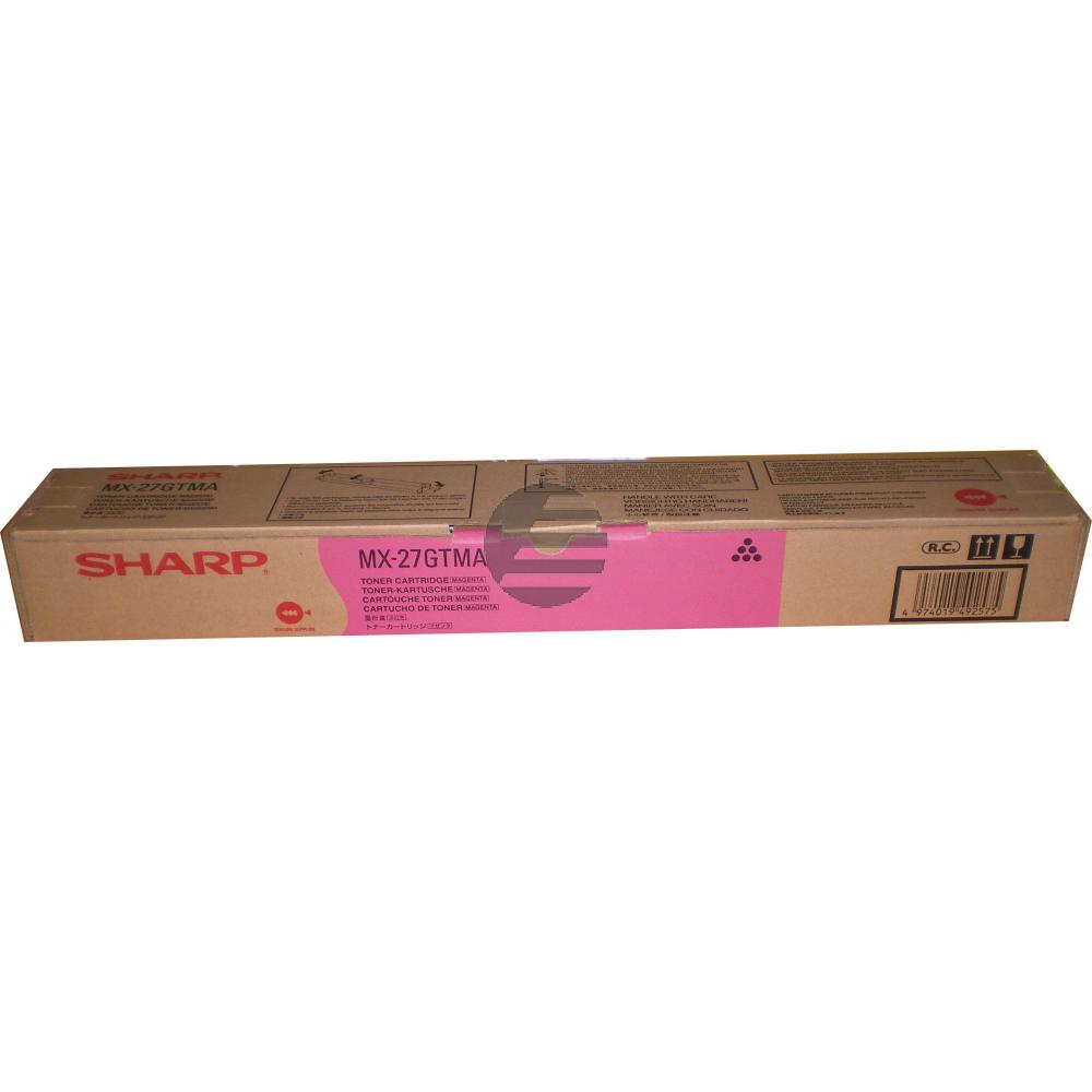 Sharp Toner-Kit magenta (MX-27GTMA)