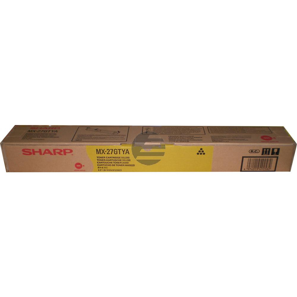 Sharp Toner-Kit gelb (MX-27GTYA)