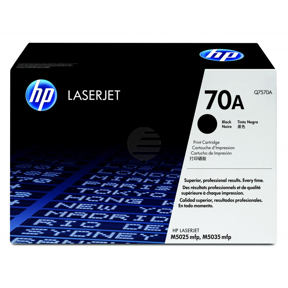 HP Toner-Kartusche schwarz (Q7570A, 70A)
