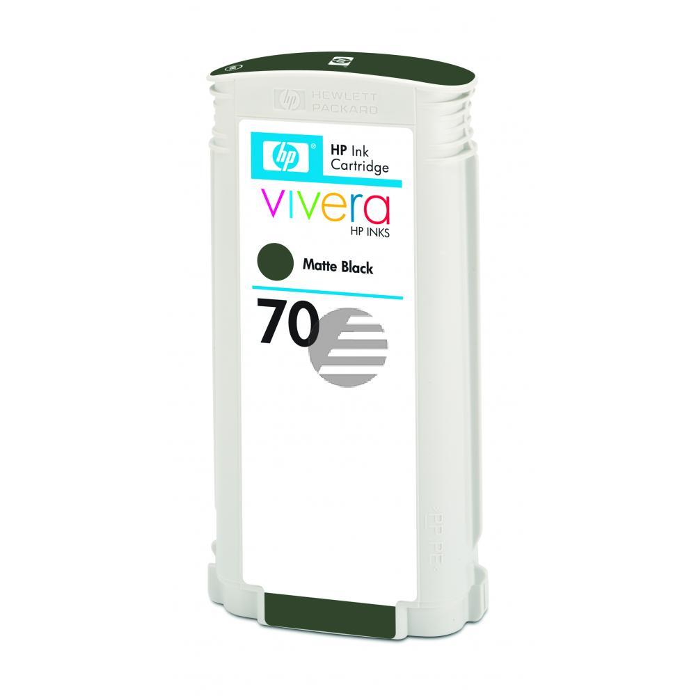 HP Tintenpatrone schwarz matt (C9448A, 70)