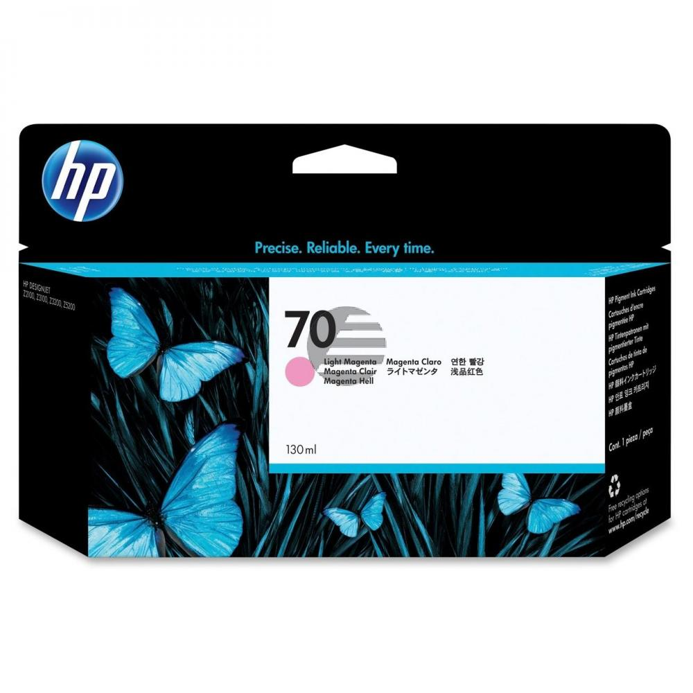 HP Tintenpatrone magenta light (C9455A, 70)