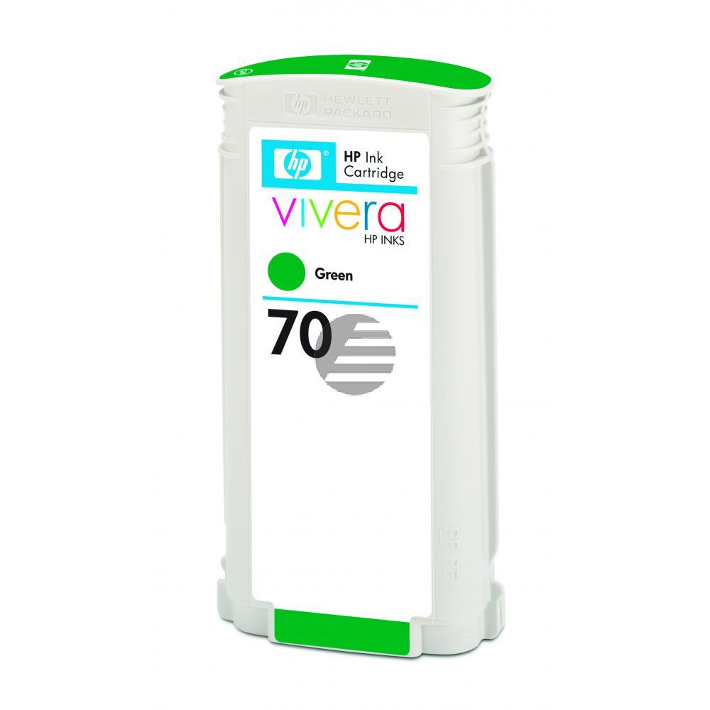 HP Tintenpatrone grün (C9457A, 70)