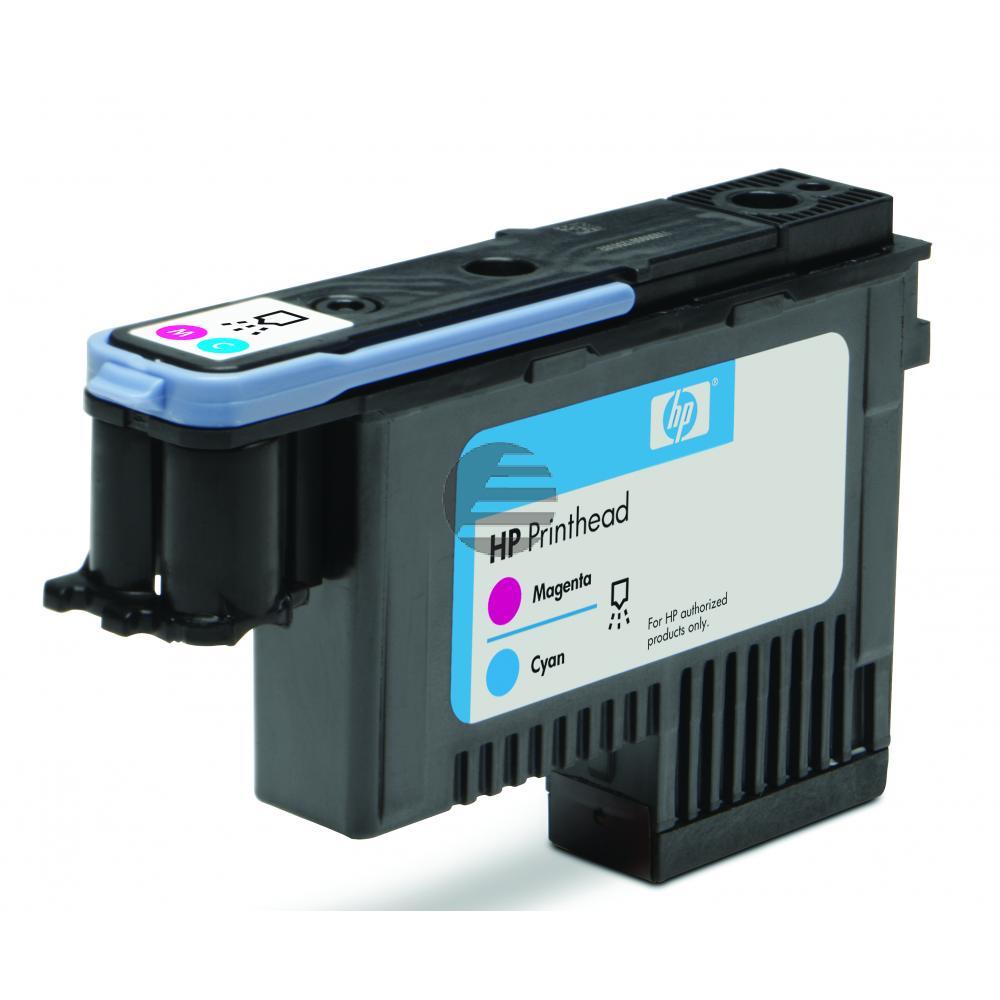 HP Tintendruckkopf magenta/cyan (C9383A, 72)