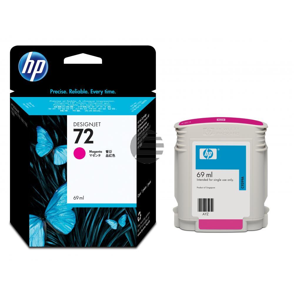 HP Tintenpatrone magenta (C9399A, 72)