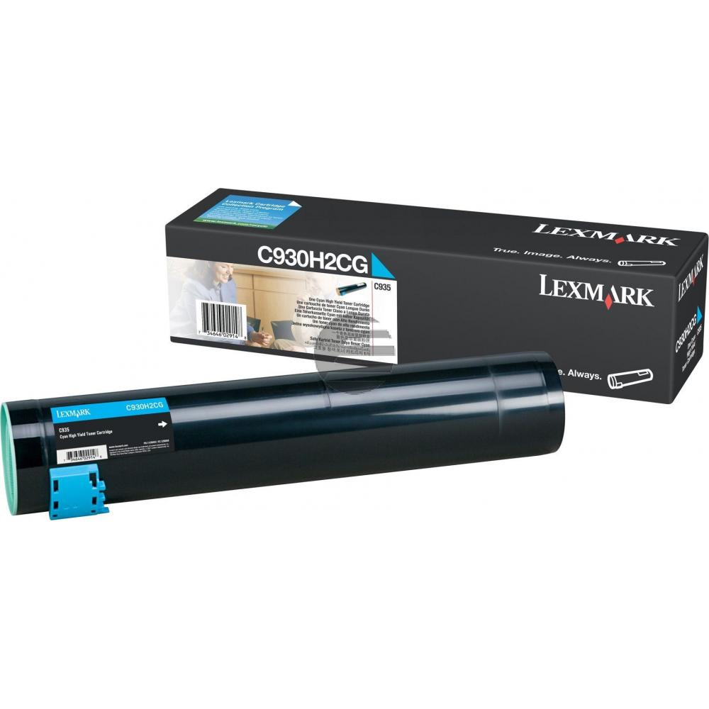 Lexmark Toner-Kit cyan (C930H2CG)