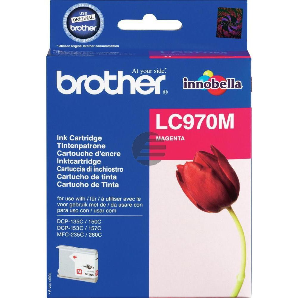 Brother Tintenpatrone magenta (LC-970M)