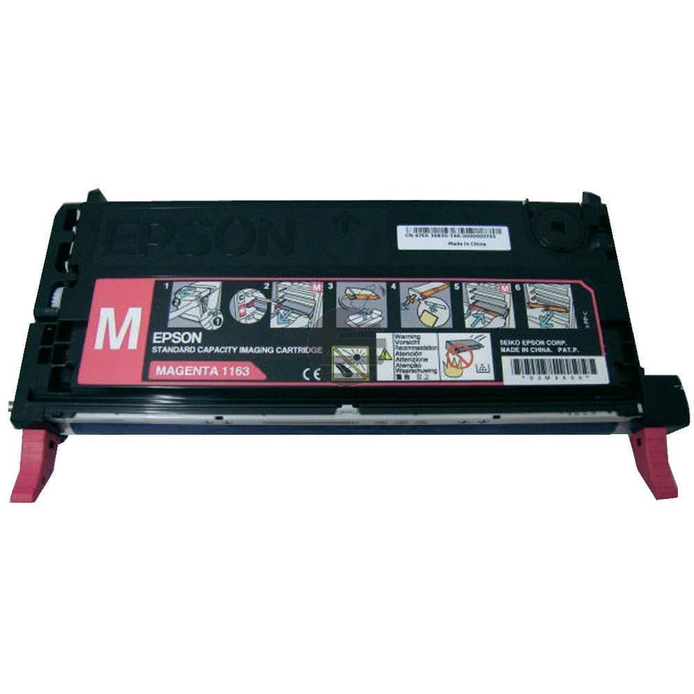 Epson Toner-Kit magenta (C13S051163, 1163)