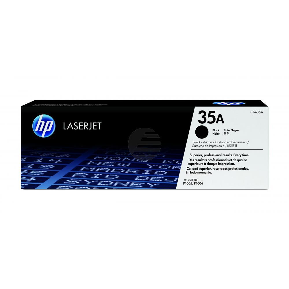 HP Toner-Kartusche schwarz (CB435A, 35A)