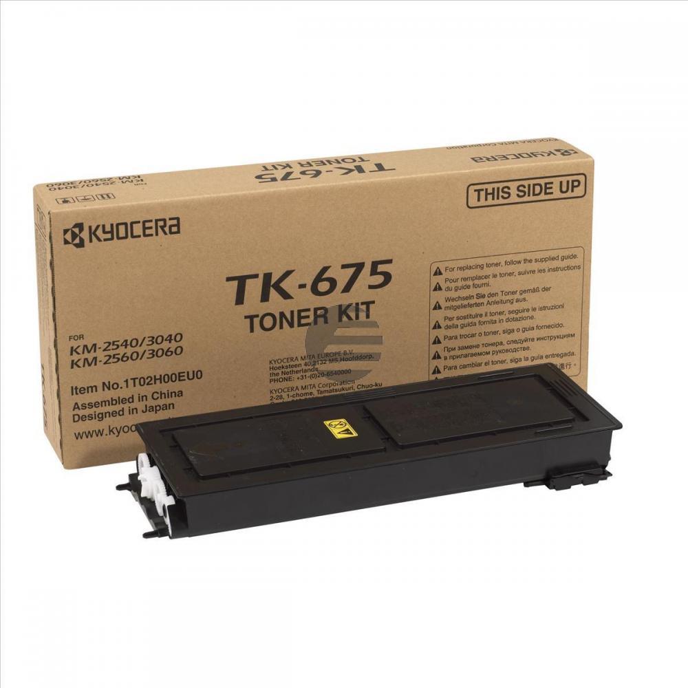 Kyocera Toner-Kit schwarz (1T02H00EU0, TK-675)