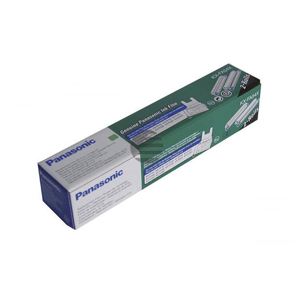 Panasonic Thermo-Transfer-Rolle schwarz (KX-FA54X)