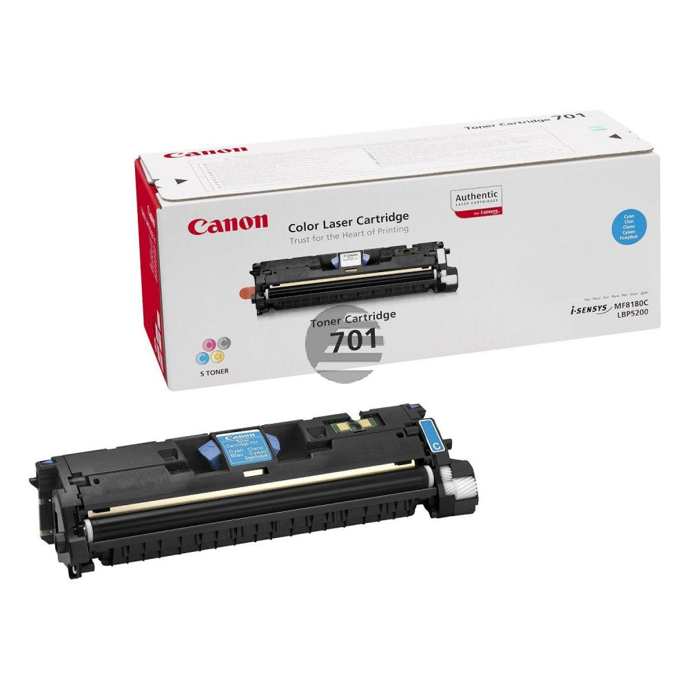 Canon Toner-Kit cyan HC (9286A003, CL-701C, EP-701C)