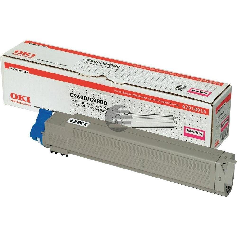 OKI Toner-Kit magenta HC (42918914)
