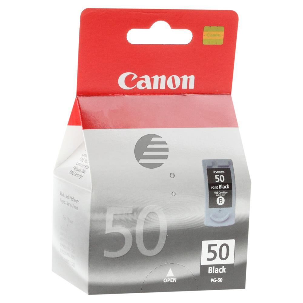 Canon Tintendruckkopf schwarz (0616B001, PG-50)