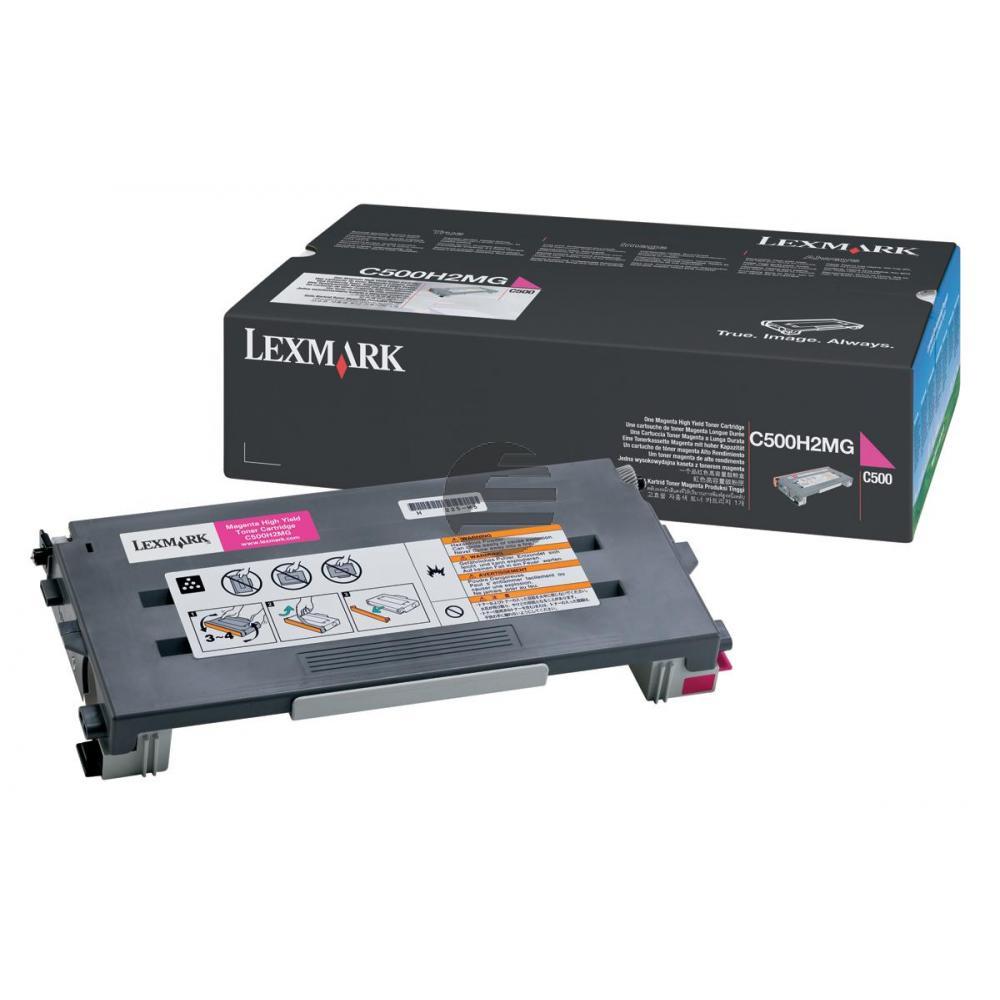 Lexmark Toner-Kartusche magenta HC (C500H2MG)