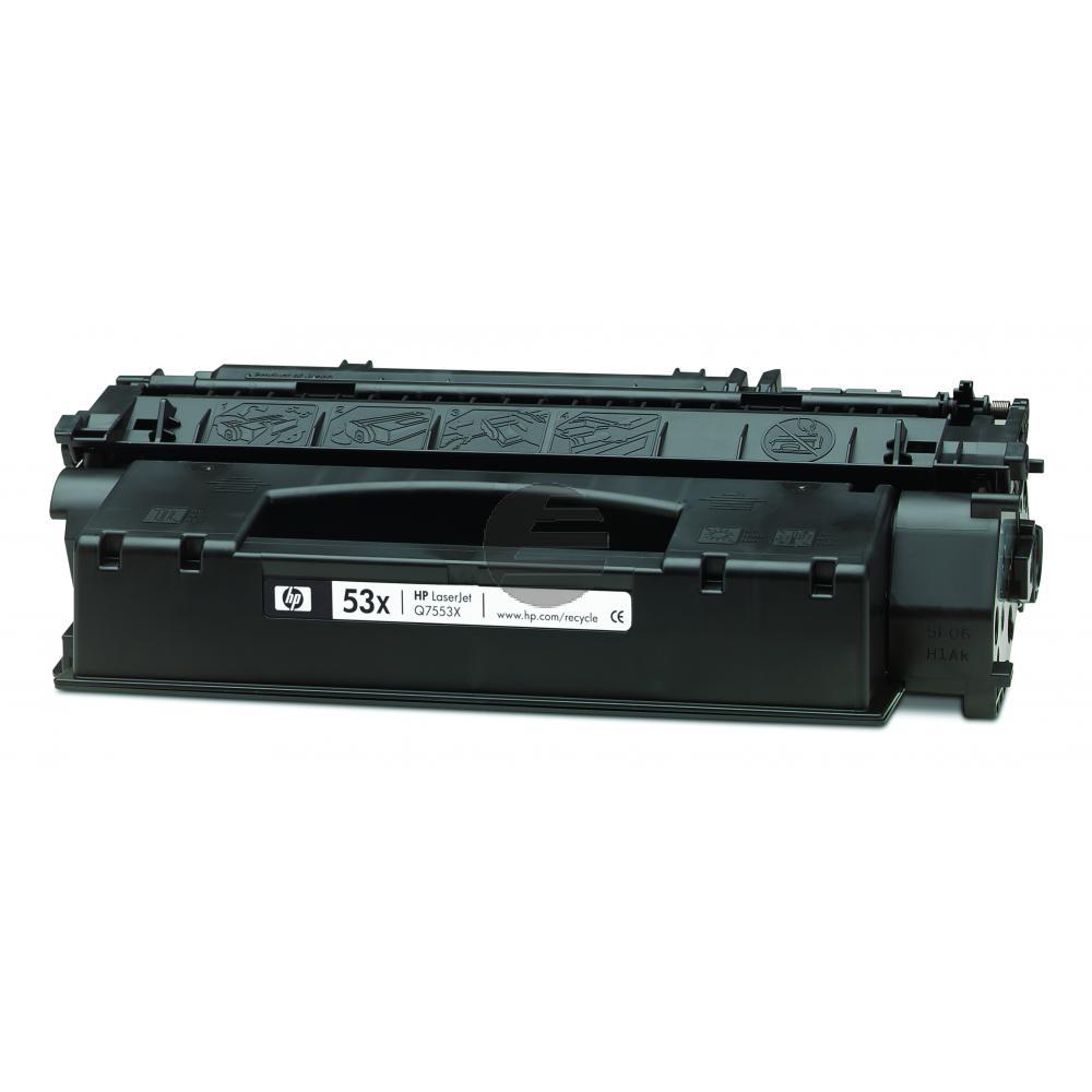 HP Toner-Kartusche schwarz HC (Q7553X, 53X)
