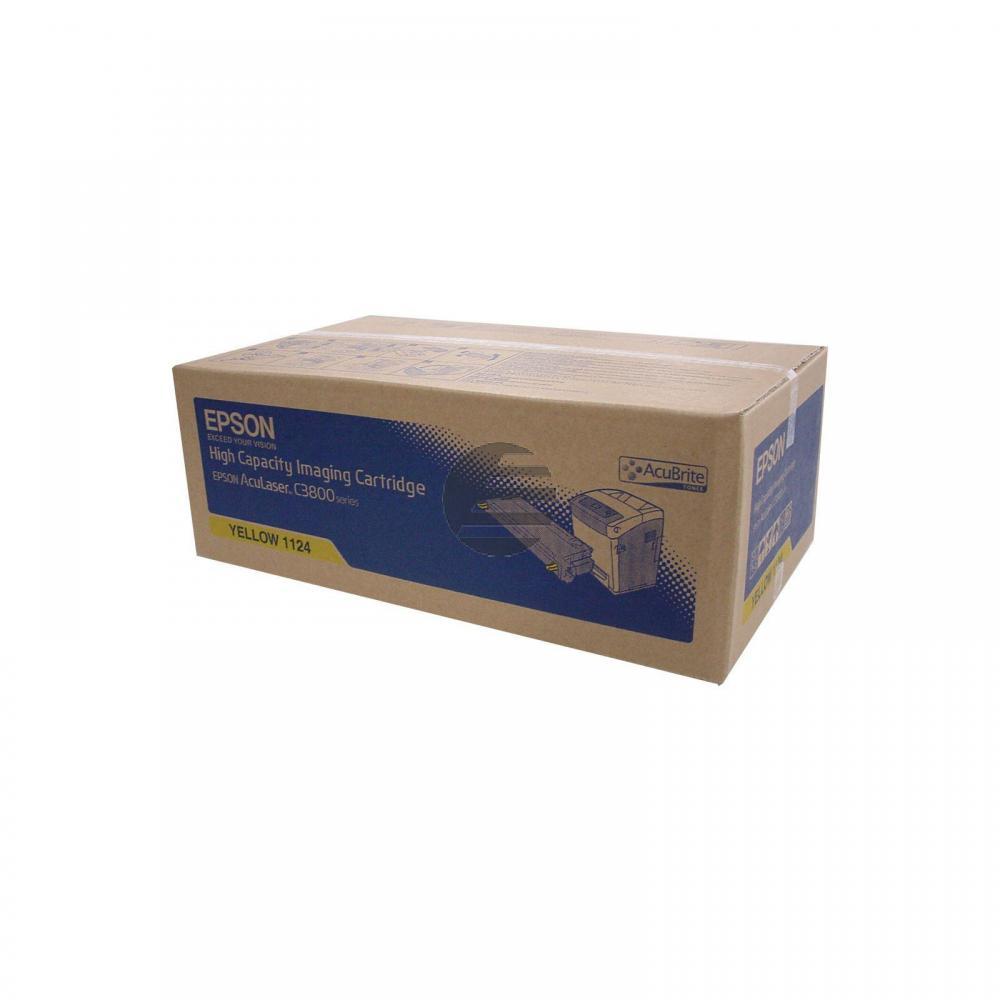Epson Toner-Kartusche gelb HC (C13S051124, 1124)