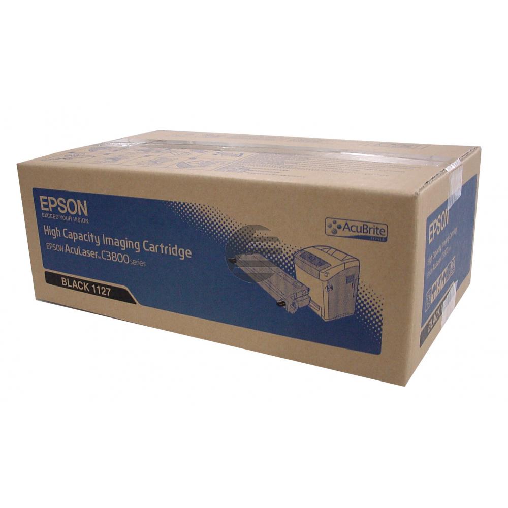 Epson Toner-Kartusche schwarz HC (C13S051127, 1127)