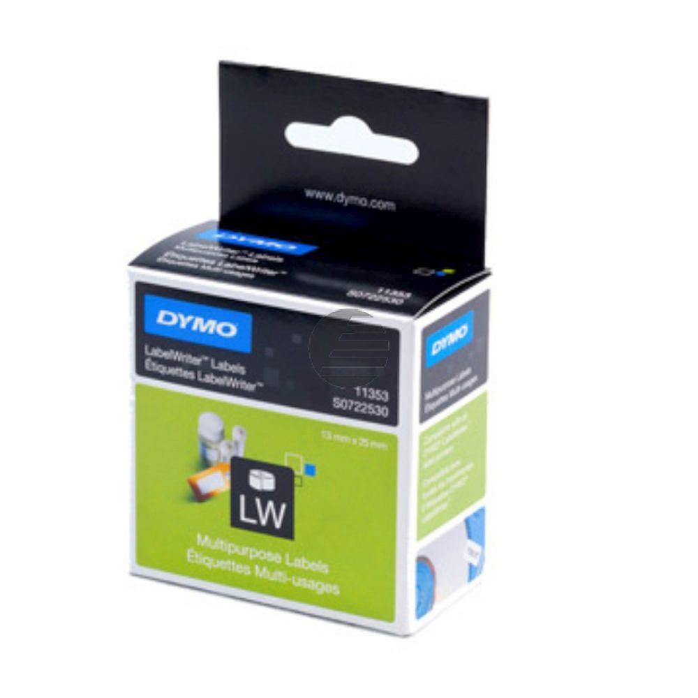 Dymo Vielzweck-Etiketten (weiß) 1 X 1.000 (S0722530)