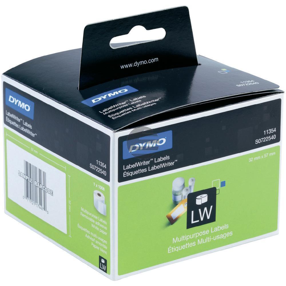 Dymo Vielzweck-Etiketten (weiß) 1 X 1.000 (S0722540)