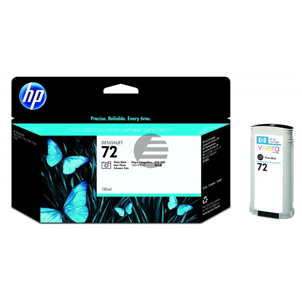 HP Tintenpatrone photo schwarz HC (C9370A, 72)