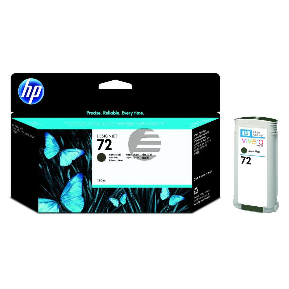 HP Tintenpatrone schwarz matt HC (C9403A, 72)