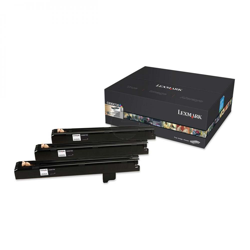 Lexmark Fotoleitertrommel gelb, cyan, magenta (C930X73G)