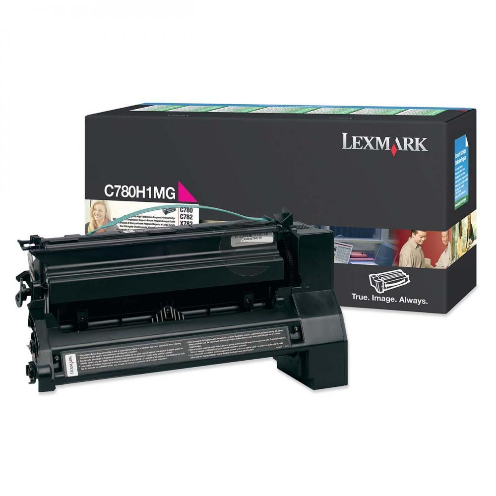 Lexmark Toner-Kartusche Prebate magenta HC (C780H1MG)