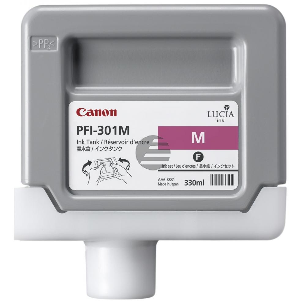 Canon Tintenpatrone magenta (1488B001, PFI-301M)