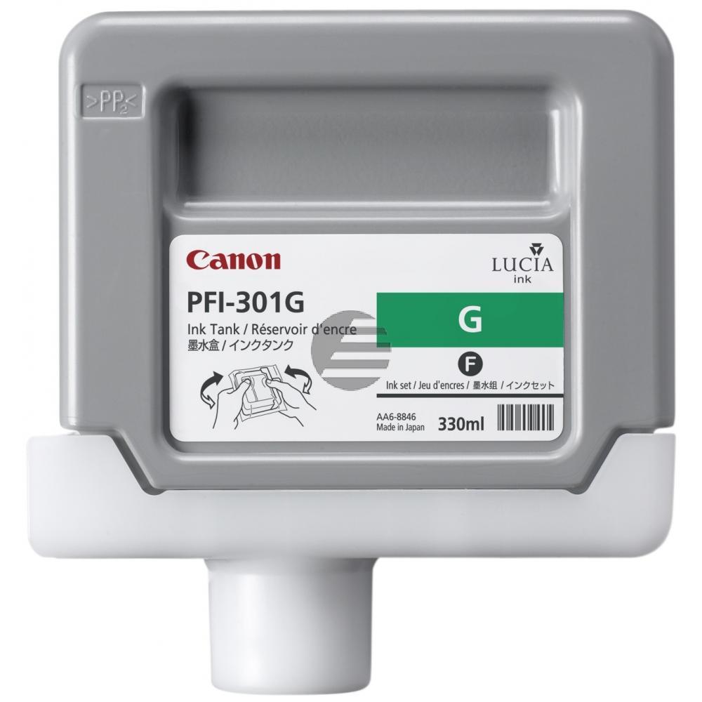 Canon Tintenpatrone grün (1493B001, PFI-301G)