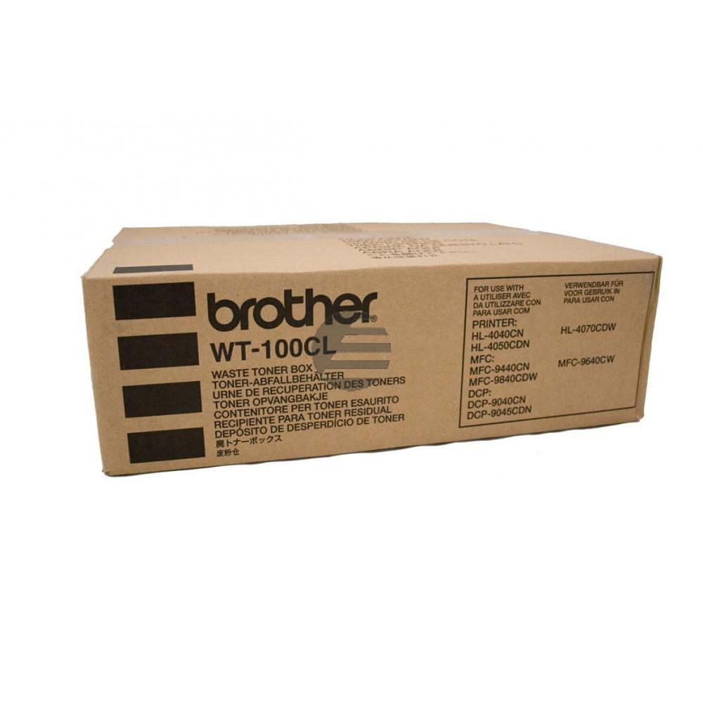 Brother Tonerrestbehälter (WT-100CL)