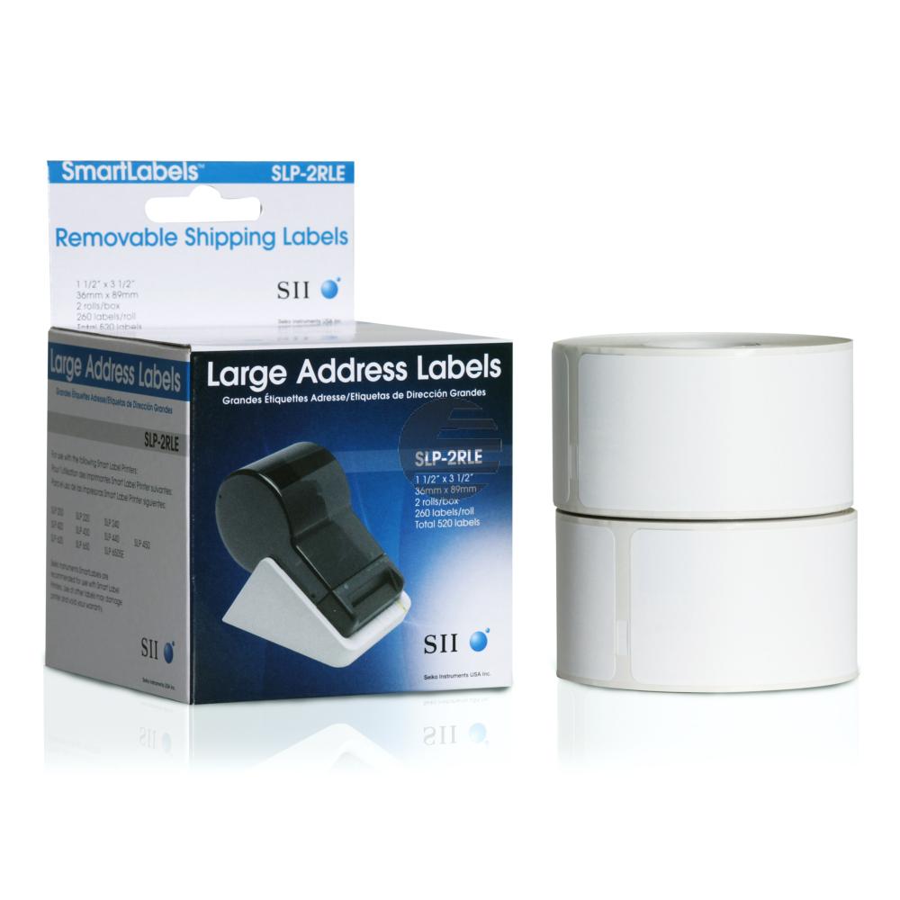 Seiko Adress-Etiketten 2 x weiß 2 x 260 Stück (SLP-2RLE)