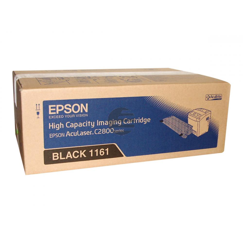 Epson Toner-Kit schwarz HC (C13S051161, 1161)