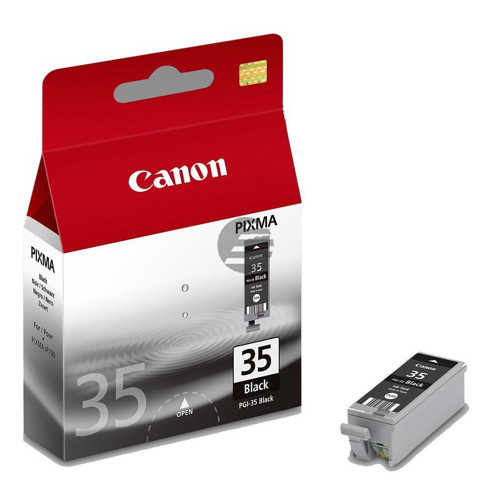 Canon Tintenpatrone schwarz (1509B001, PGI-35BK)