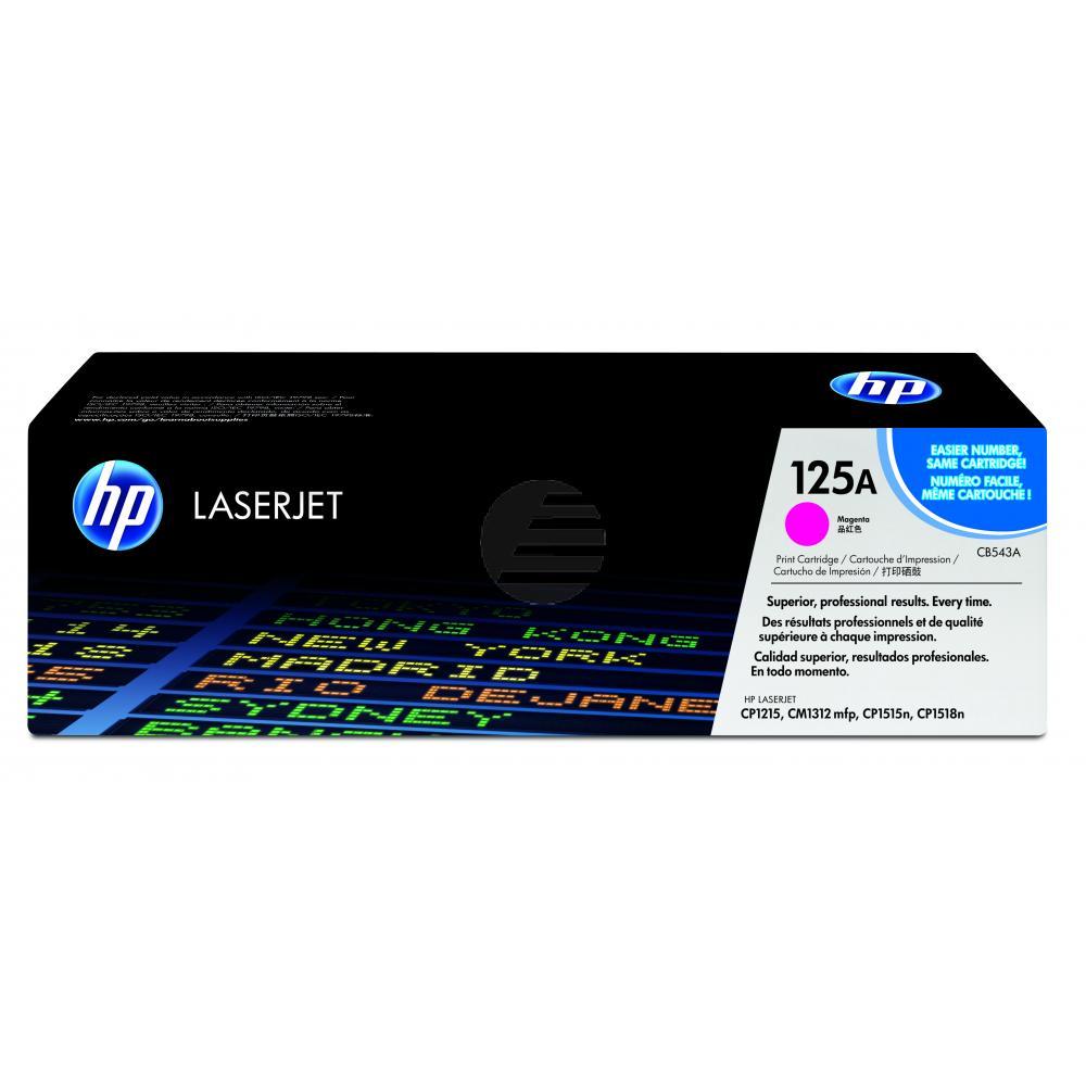 HP Toner-Kartusche magenta (CB543A, 125A)