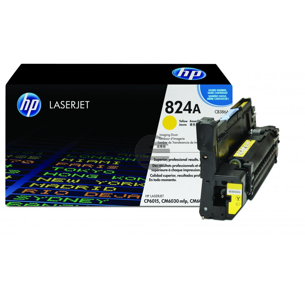 HP Fotoleitertrommel gelb (CB386A, 824A)