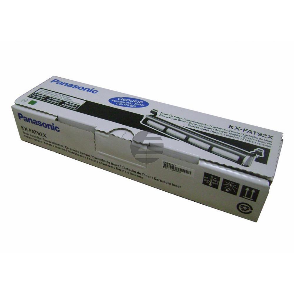 Panasonic Toner-Kit schwarz (KX-FAT92X)