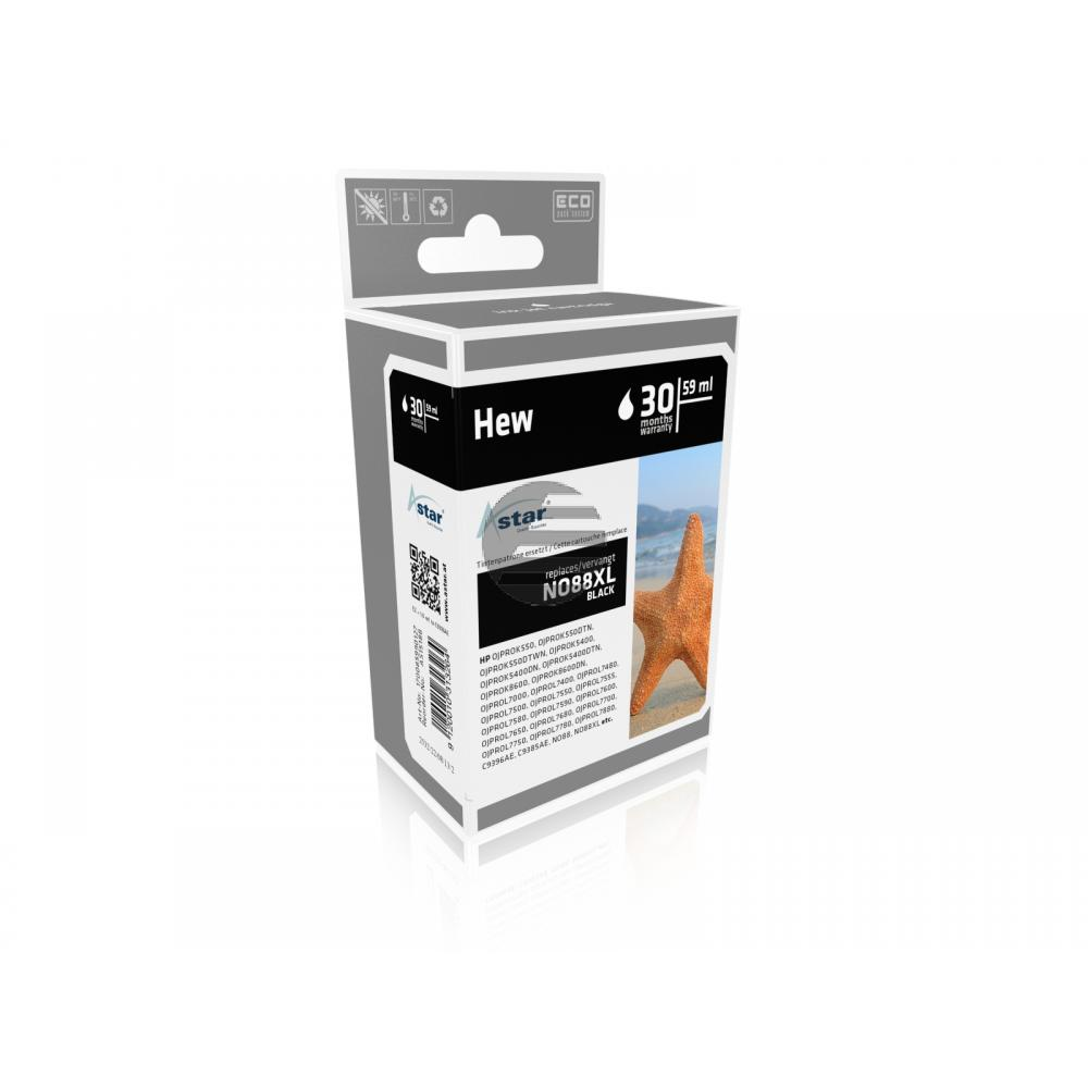 Astar Tintenpatrone schwarz HC (AS15188) ersetzt 88XL