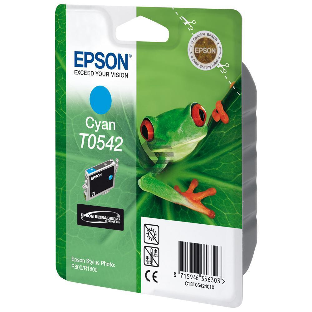 Epson Tintenpatrone cyan (C13T05424010, T0542)