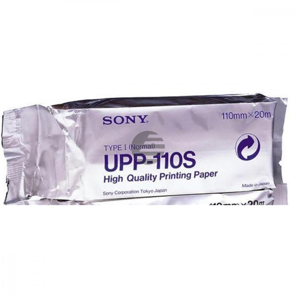 Sony Thermo-Transfer-Papier Standard schwarz/weiß (UPP-110S)