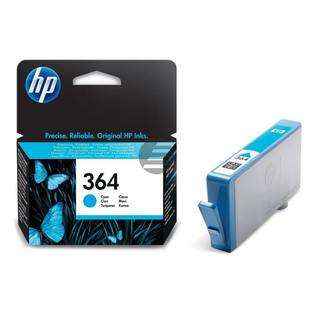 HP Tintenpatrone cyan (CB318EE, 364)