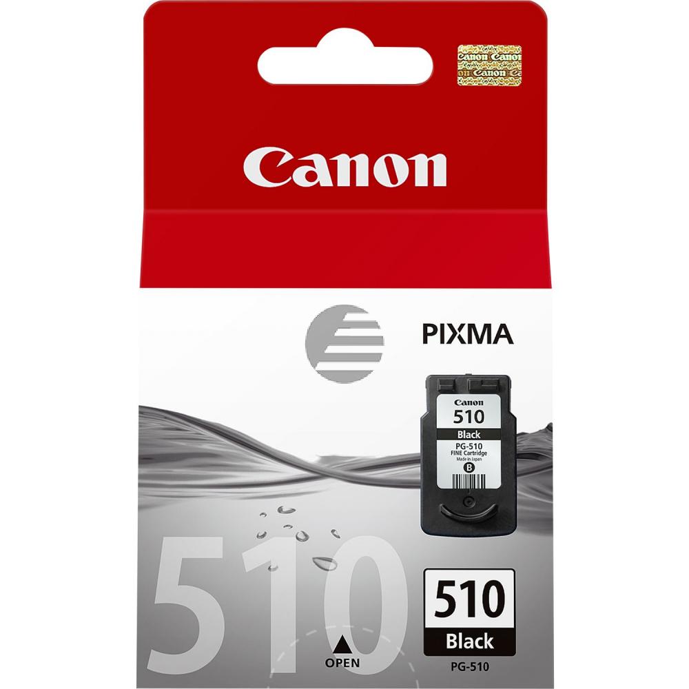 Canon Tintenpatrone schwarz (2970B001, PG-510)