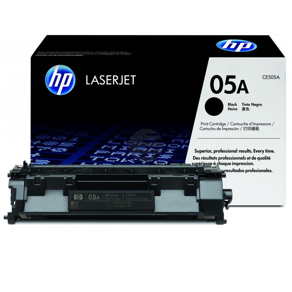 HP Toner-Kartusche schwarz (CE505A, 05A)