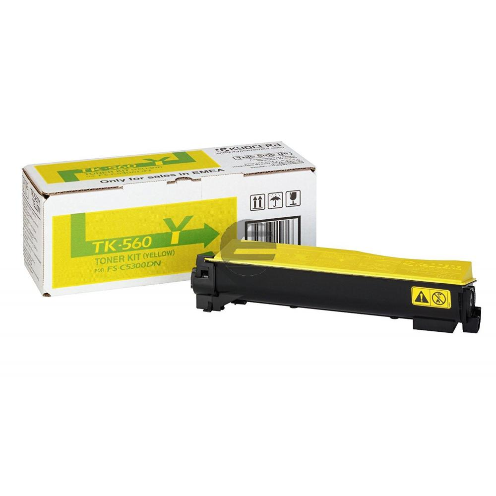 Kyocera Toner-Kit gelb (1T02HNAEU0, TK-560Y)