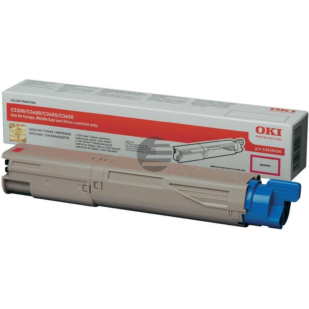 OKI Toner-Kit magenta HC (43459434)