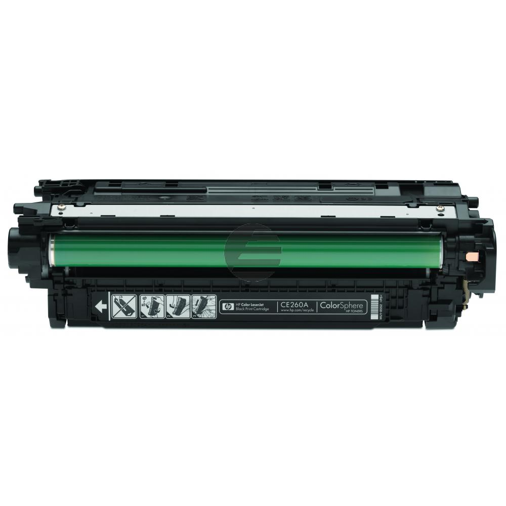 HP Toner-Kartusche schwarz (CE260A, 647A)