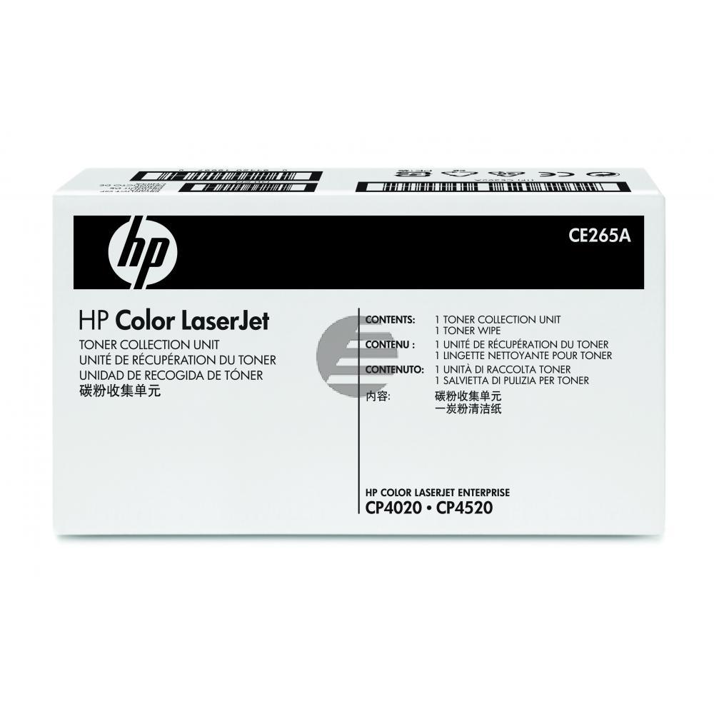 HP Tonerrestbehälter gelb, cyan, schwarz, magenta (CE265A)